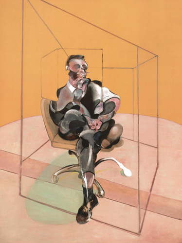 Study for Portrait 1971 by Francis Bacon