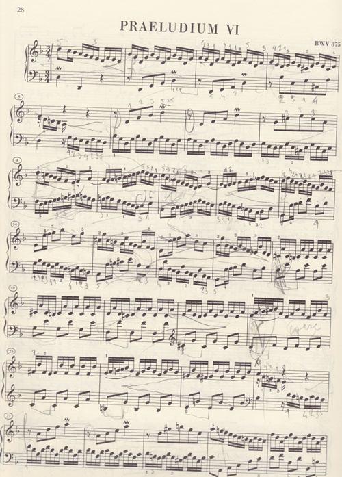 Bach Prelude in D Minor