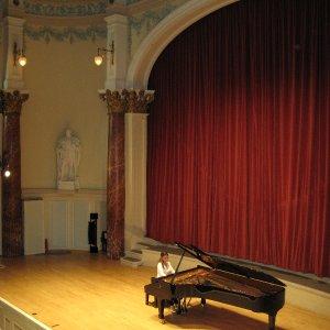 Yllka Istrefi at Cheltenham Town Hall