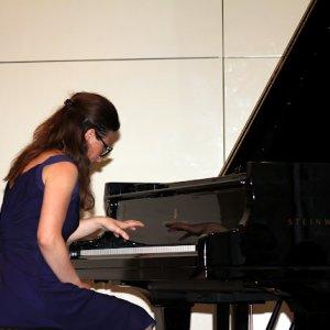 Yllka Istrefi at the Royal Overseas League London